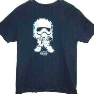 Star Wars T Shirt Black Storm Trooper Graphic XL